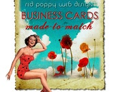Made to Match Business Cards Premade Affordable Fabulous Add on