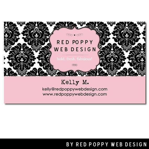premade business cards digital print at home by. Black Bedroom Furniture Sets. Home Design Ideas