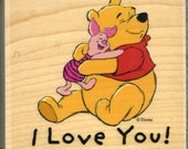Winnie the Pooh and Tigger Too Rubber Stamps