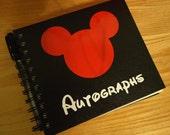 Mickey Autograph Book