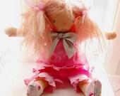 "Mackenzie, 16""  Waldorf doll"