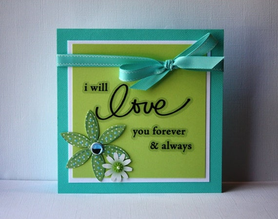 Love Handmade Card: