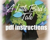 PDF Instructions - A Little Birdie TREE SHAPED Mini Book