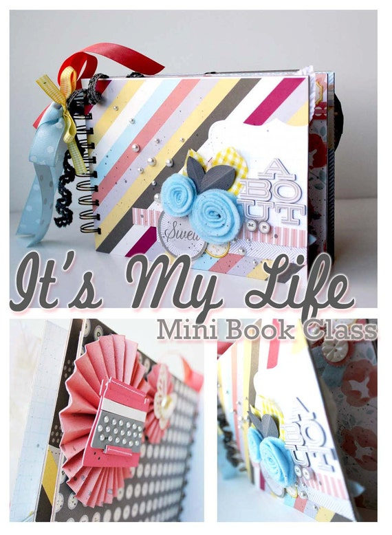 LAST ONE -- It's My Life Mini Book Kit