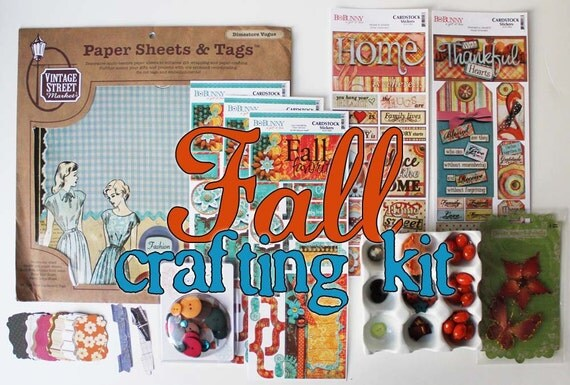Fall Paper Crafting Kit - LIMITED Edition