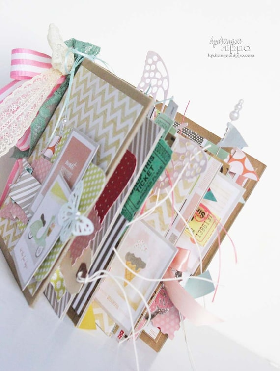 Pretty Little Party 6x6 Mini Book Kit - over 20 pages