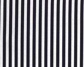 Clown Stripe Black and White CX3584-Whit-D - Circus Fun by Michael Miller