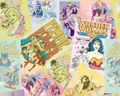 Girl Power by DC Comics for Camelot Cottons - Wonder Woman Collage Multi(23400202)