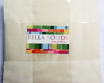 Moda Bella Solids Layer Cake Snow