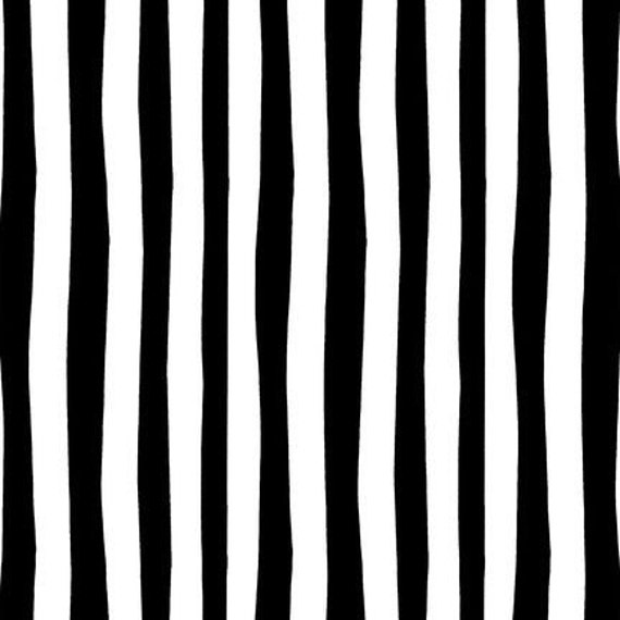 Celebrate Seuss Black Stripe Fabric 1 Yard