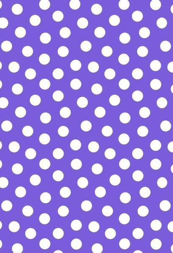 Early Birds by Jane Sassaman for FreeSpirit Fabrics - Polka Dot Plum PWJS34 END of BOLT Piece 24 inches