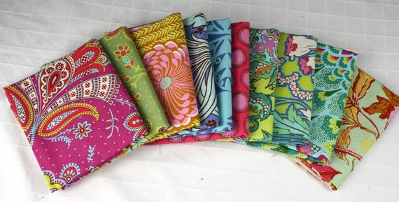 Fat Quarter Bundle from Amy Butler's Soul Blossoms Fabric Collection