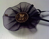 Odds 'N Ends Victorian Butterfly Gothic Brooch