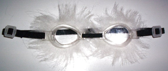 Cosplay Goggles (black and long white)