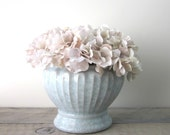 Pale Blue Chinese Pottery Planter with Heavy Crazing