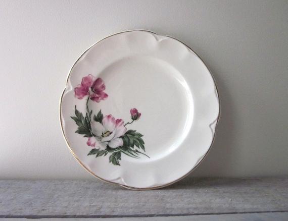 Small Shabby Chic China Plate