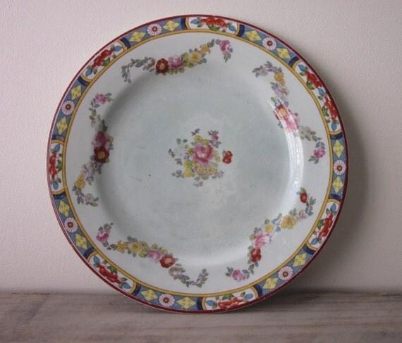 English China Plate