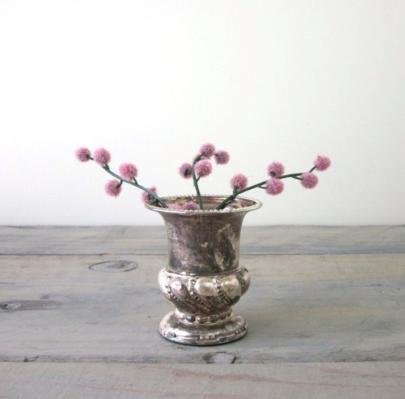 Silver Plate Toothpick Holder by Ronson