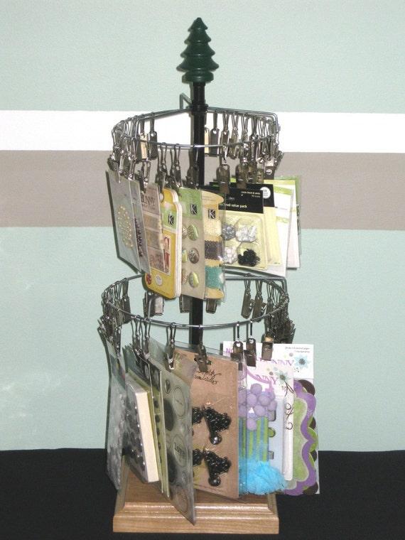 2 Teir Spinning Storage / Display Tree
