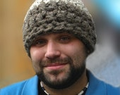 RESERVED for ELHOWIESON Crocheted Beanie Hat