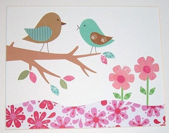 Etsy Girl Nursery Wall Decor : Items similar to baby girl nursery decor kids wall art