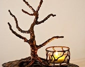 Copper Lone Tree Candle