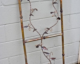 Copper  Bamboo Trellis