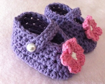Baby Crochet Pattern - Hat and Bootie Set in Newborn and Baby Sizes No.901 Digital Download