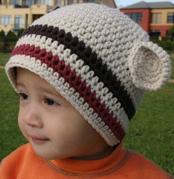 Easy Crochet Hat Patterns For Beginners : Hat Crochet Pattern Boys Easy Peasy Chunky Beanie Crochet