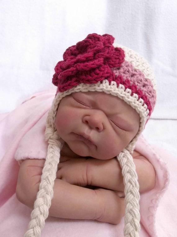 Easy Peasy Crochet Hat Patterns : Crochet Hat Pattern Easy Peasy Earflap Hat Crochet Pattern