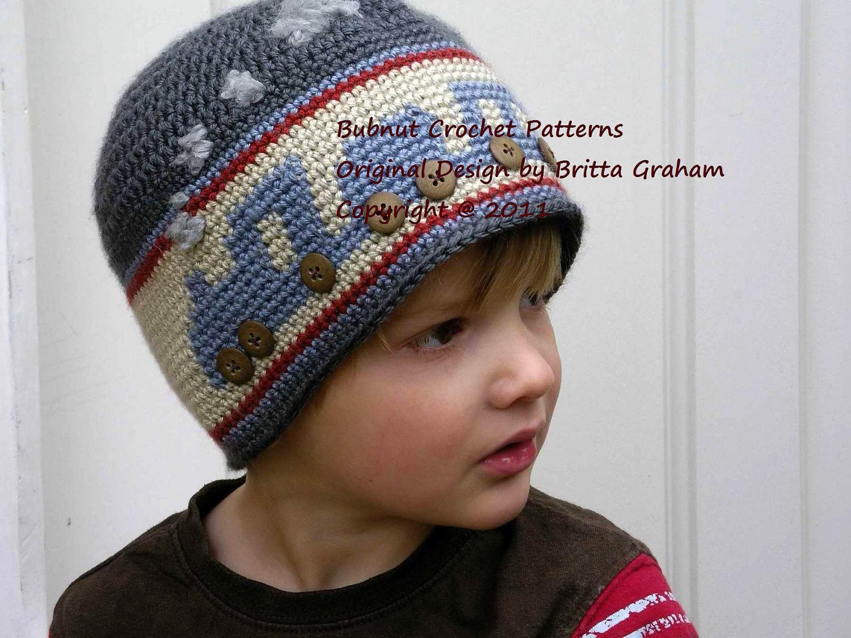 Toddler Boy Crochet Patterns Boys Crochet Hat Pattern