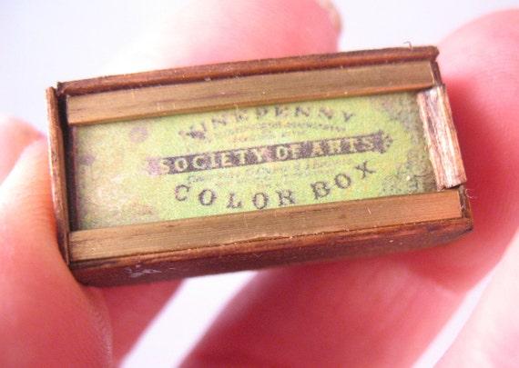 Society of Arts Penny Colour Box.