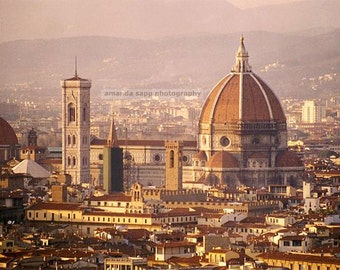 Duomo Florence Italy color photograph