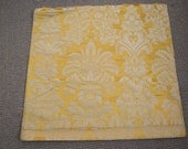 4 peices of  woven silk damask