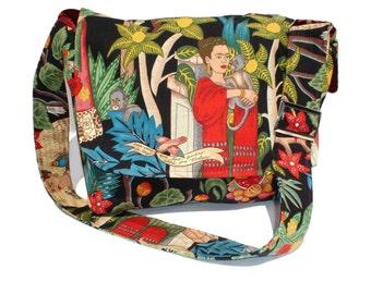 Black Frida Messenger Bag