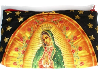 Black Guadalupe Wallet / Coin purse