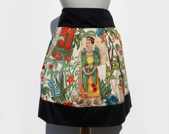 Frida  Mexican Vintage Inspired Retro Skirt