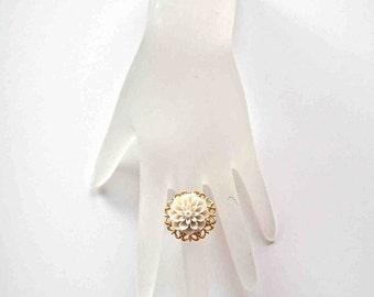 Adjustable Flower Ring 138