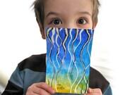 Inspirational Art OOAK Watercolor Painting