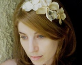 Aphrodite - Floral Fascinator with a  romantic vintage flair