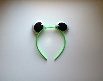 Frog Eyes Headband Made to Order