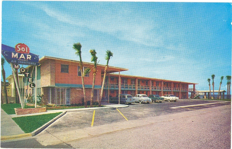 Vintage Florida Postcard Jacksonville Beach Chrome