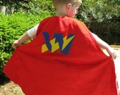 Toddler size Reversible Superhero Cape- Design Your Own