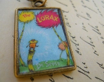 Dr Suess,  The Lorax, Necklace