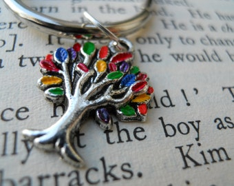 Family Tree-Hand Painted Keychain