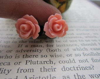 Plugs - Gauges - Dusty Rose/Mauvish Roses