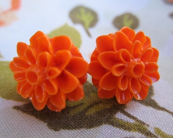 Pretty Blossoms in Orange