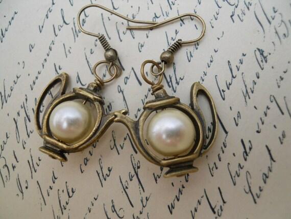 Time For Tea Earrings-Alice In Wonderland