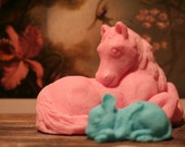 A Horse & His Mouse Friend Soap Art What a Story this could be :)
