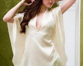 Mistress Kimono Collection - Silk Kimono Top, wedding, bride, anniversary, pajamas